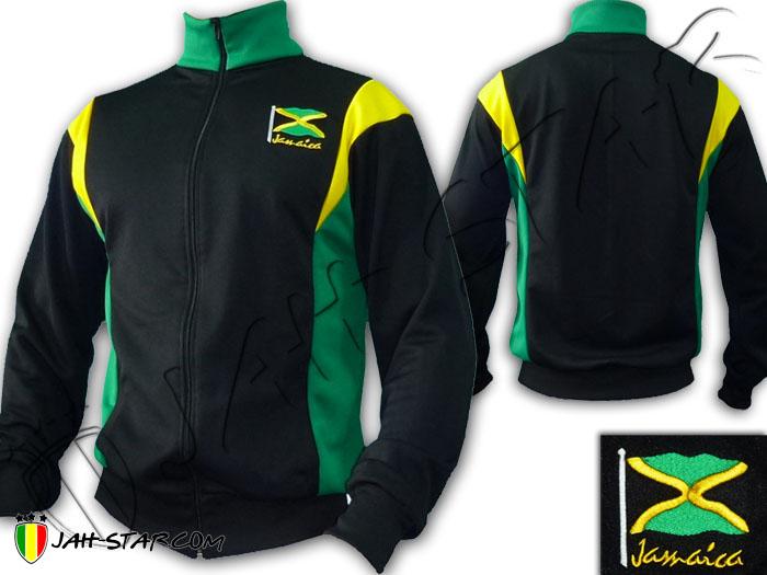Rasta Jacket Jacke Reggae Jamaica Flag Freedom Peace ...
