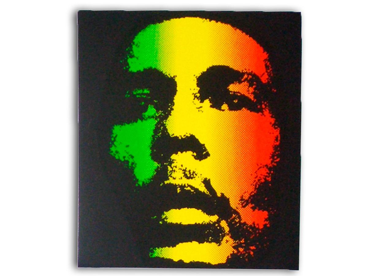 Sticker rasta reggae roots ragga bob marley