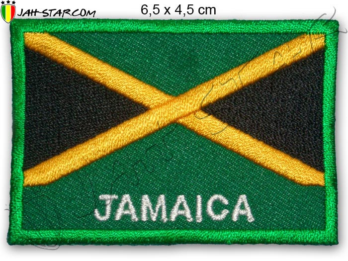 Patch Rasta Reggae Roots Jamaica Flag