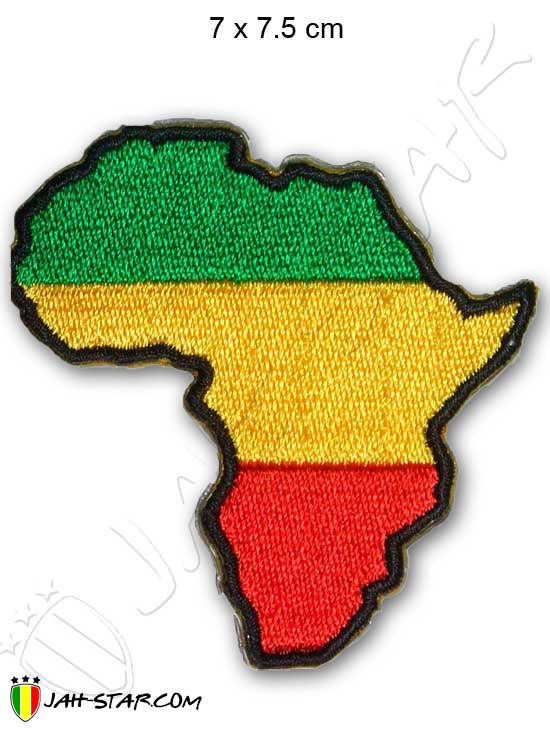 Iron on Patch Rasta Reggae Roots Africa