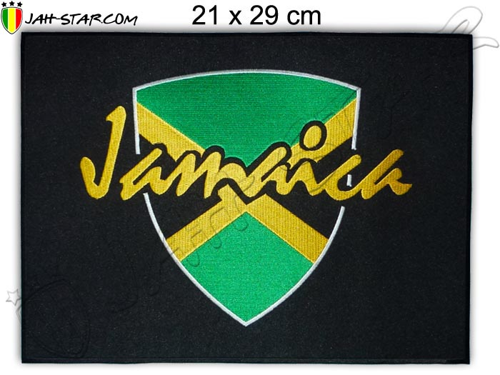 Big Iron on Patches Rasta Reggae Roots Jamaica Freedom
