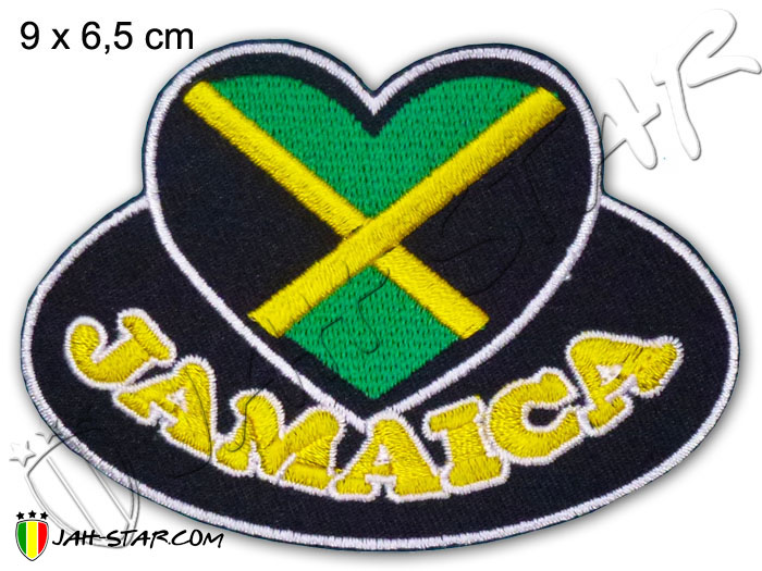 Iron on Patch Rasta Reggae Roots Mali Flag One Love Jamaica