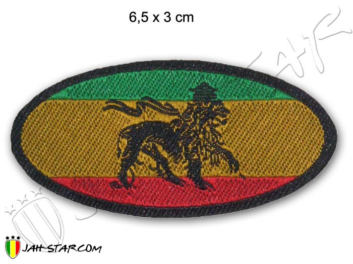 Patch Rasta Reggae Roots Africa Lion Of Judah