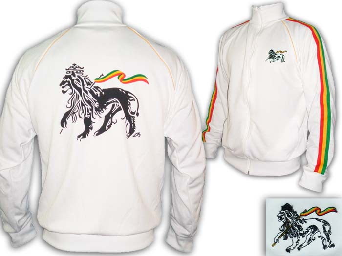 Jacket Rasta Reggae Rock Conquering Lion of Judah