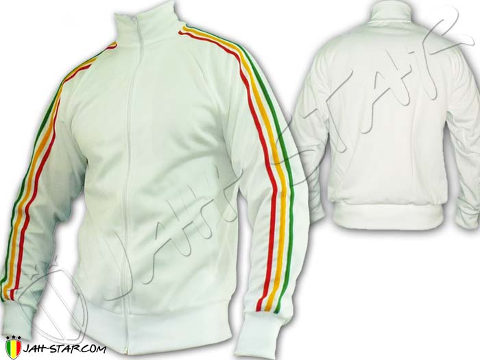 Jacket Rasta Reggae 3 stripes Jah Star Bob Marley