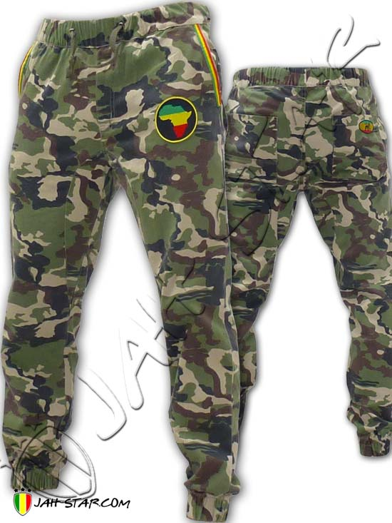 Military Baggy Pant Rasta Africa SLIM FIT