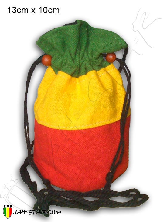 Purse Bag Rasta Reggae Jamaica Roots Ragga Bob Marley