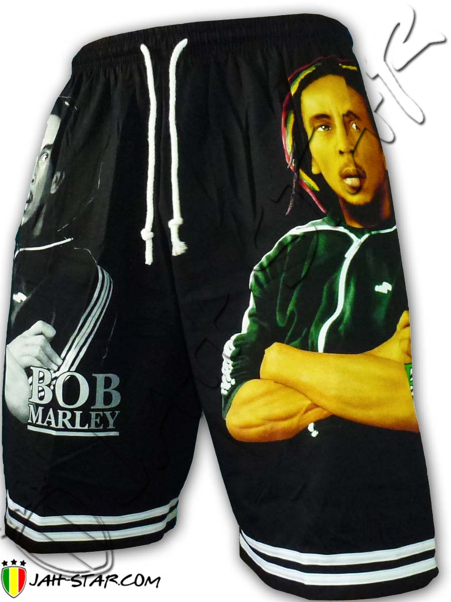 Short Bob Marley Taille unique