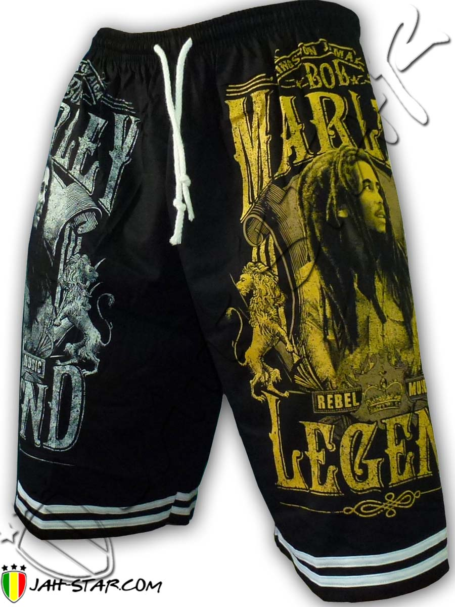 Short Bob Marley The Legend Taille unique