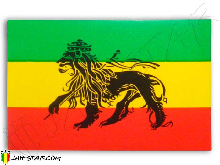 Sticker Rasta Reggae Roots Ragga Conquering Zion Lion Of Judah Ethiopia