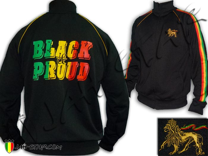 Bob Jacket Of amp; Pround Reggae Marley Judah Rasta Lion Roots Black axzrqTIaw