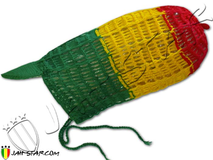 Long Bonnet pour Dreadlocks Roots Rasta Reggae Jamaica