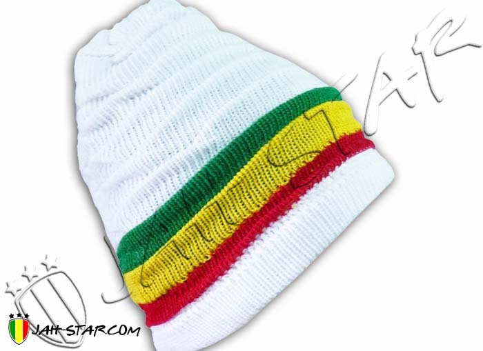 Beanie Roots Rasta Reggae Jamaica Cap Hat Dreadlocks
