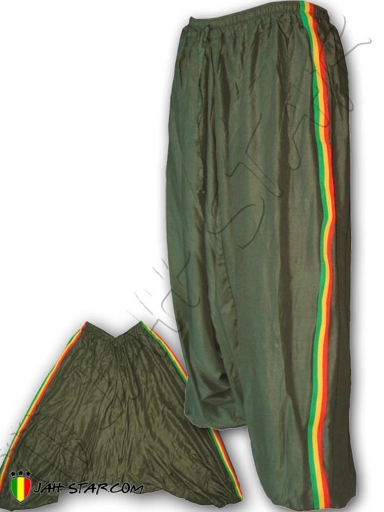 Bandas Colores Star Jah 3 Pantalones Rasta De Harén Reggae Talla W1wcwxUOP