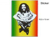 Sticker Rasta Jamaica Bob Marley AS117