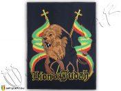 Parche de hierro grande Rasta Conquering Lion Of Judah