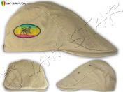 Casquillo Hatteras Rasta Reggae Lion Of Judah Beige C260C