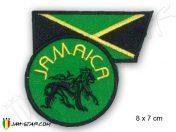 Parche Rasta Jamaica León de Judá E109