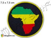 Ecusson Rasta Reggae Afrique Bob Marley Thermocollant