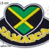 Jamaica Heart Patch Bob Marley's Land E123