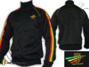 Jacke Jumper roupas jaqueta Jacket Vetement veste rasta reggae roots logo embroidery jah star bob marley Black JB103B