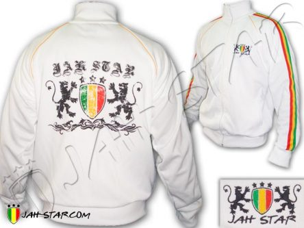 Chaqueta Rasta Rock Reggae Roots Bob Marley Lion Jah Star JB344W