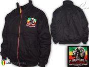 Blouson Manteau d'hiver Rasta Bob Marley Logo Brodé OJ525