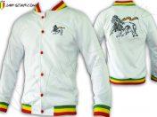 Jacket Rasta Lion Rastafarian JC101W