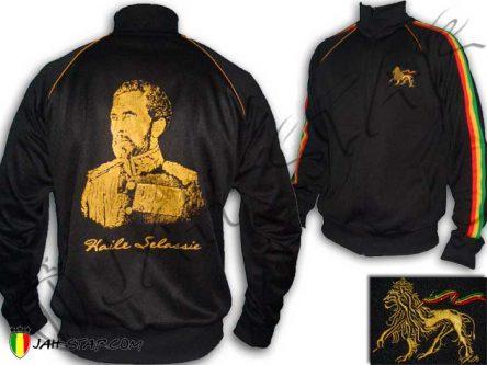 Rasta Jacket Haile Selassie I King Ethiopia JB180B
