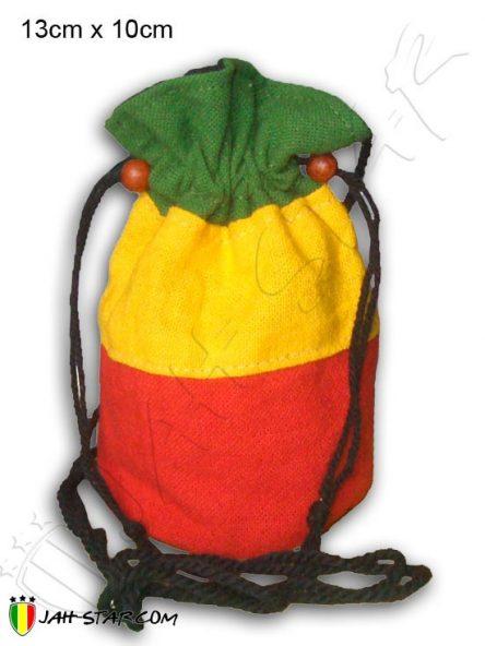 Bolso Monedero Rasta Reggae Bob Marley B120