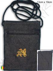 Sacoche Bag Korb seron borsa anquinhas pannier rasta reggae Lion Of judah black B108B