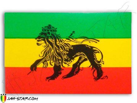 Pegatina Rasta Conquering Zion Lion Of Judah Ethiopia AS98