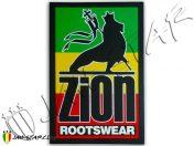 Sticker autocollant adesivo Aufkleber etiqueta engomada rasta jah star Zion Rootswear AS28
