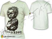 Tee Shirt Kleidung Rasta Jah Star Baby Africa White TS135W