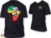 Tee Shirt Reggae Rasta Africa Baby Portrait Noir TS385B