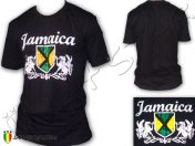 Tee Shirt Rasta Reggae Jamaica Bob Marley Negro TS404B