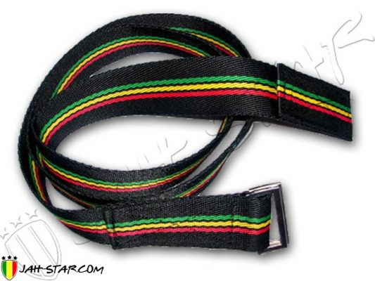 belt ceinture Gurtel cintura cinturon cinto rasta reggae bob marley A230R