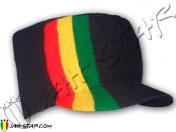 bonnet Cap beanie gorro mutze cappello rasta reggae bob Marley H185B2