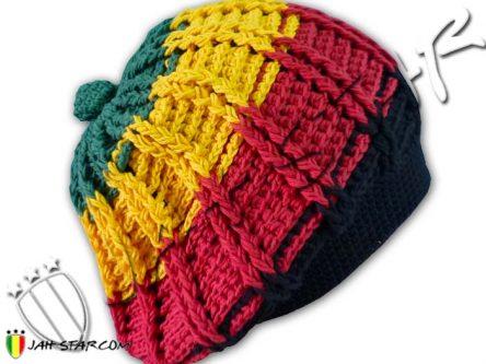 bonnet beanie gorro mutze cappello roots rasta reggae dreadlocks bob Marley Style H150