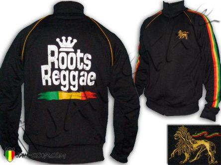 chaqueta jaqueta vestiti Kleidung jacket Veste Vetement Clothes Jah Star roupas rasta roots reggae africa bob marley lion zion Black JB387B