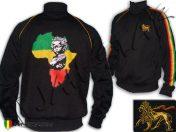 Veste Reggae Rasta Africa Baby Afrique Freedom Noir JB385B