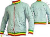 jacket Jumper Rasta Jah Star Col rastafari jamaica JA2000
