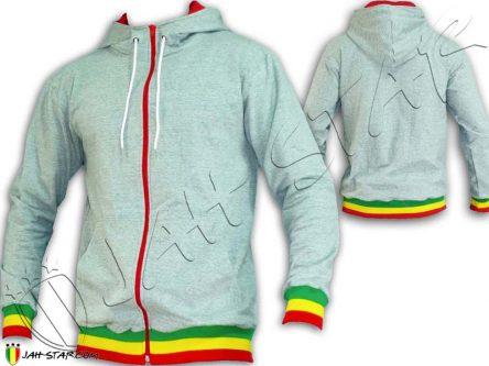 jacket Jumper Rasta Jah Star Wear Clothes giacca rastafari jamaica JA1000