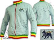 jacket Jumper Rasta Jah Star Wear Clothes giacca rastafari jamaica JA200