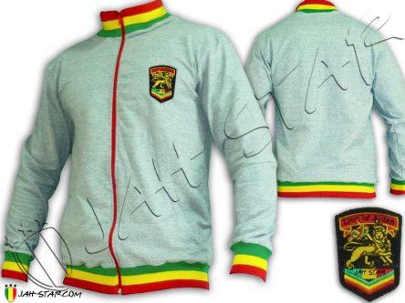 jacket Jumper Rasta Jah Star Wear Col rastafari jamaica JA808