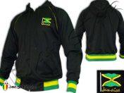 jaqueta jacket abbigliamento Hoodie veste capuche giacca rasta reggae roots rock bob marley Jamaica Jamaique Embroidered J126J