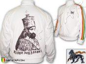 Chaqueta Rasta Reggae Jah Star Wear Haile Selassie I King Ethiopie Negro JB157B
