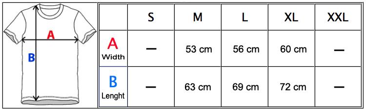 MeasurementChartTJ105