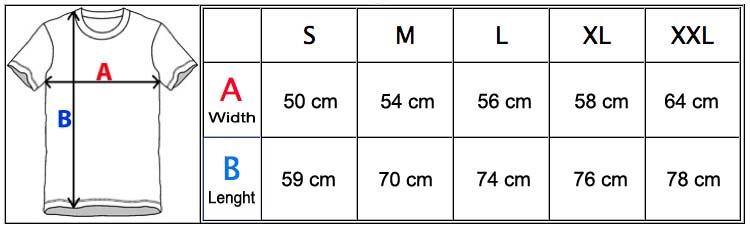 MeasurementChartTJ108