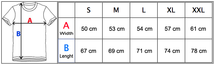 MeasurementChartTTJ1000